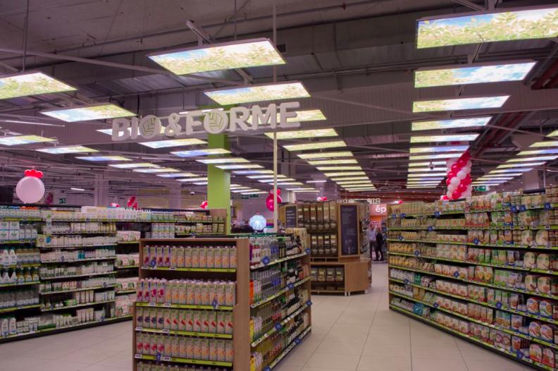 meble do sklepów spożywczych