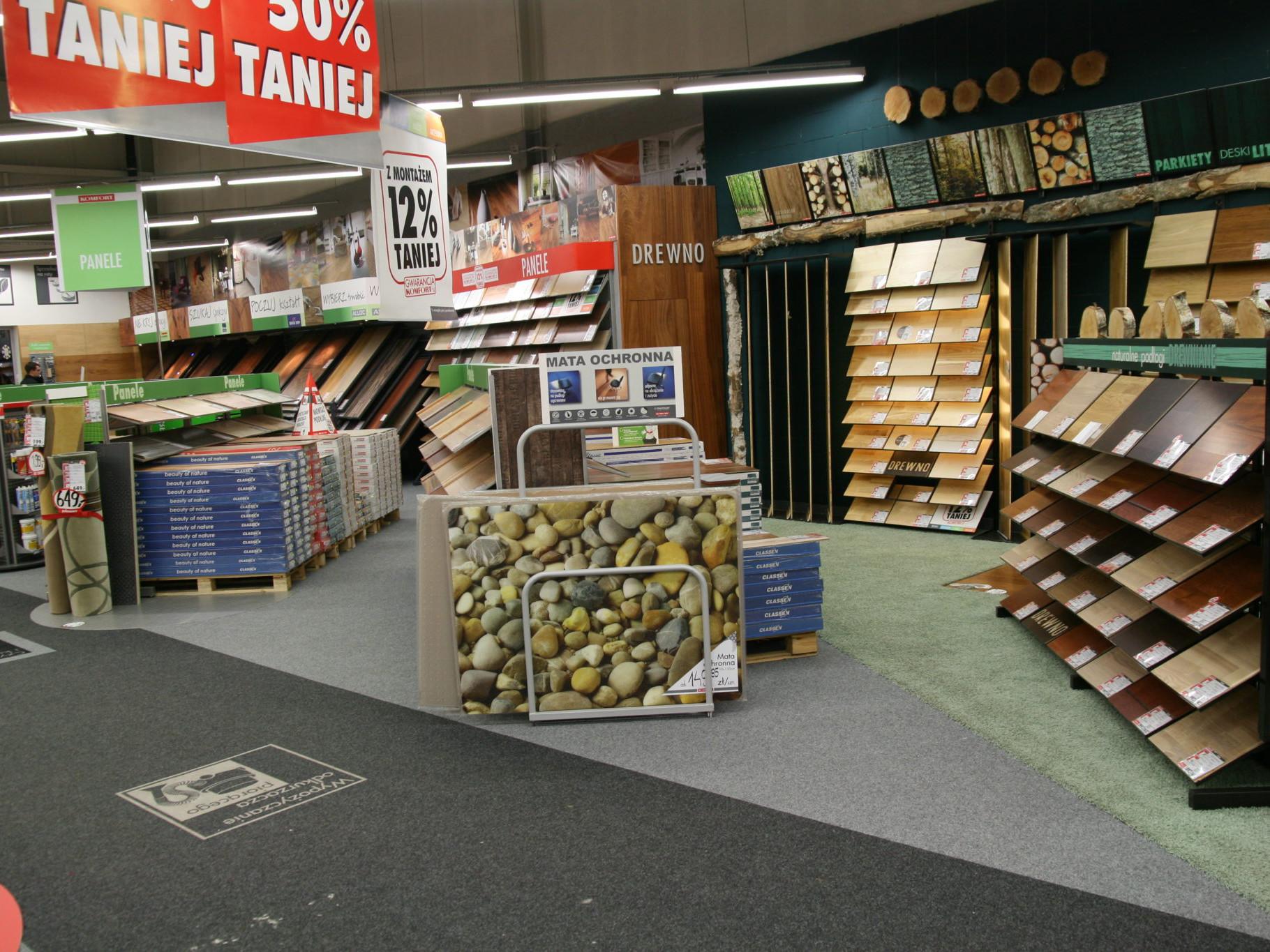 meble do marketów budowlanych Vonart