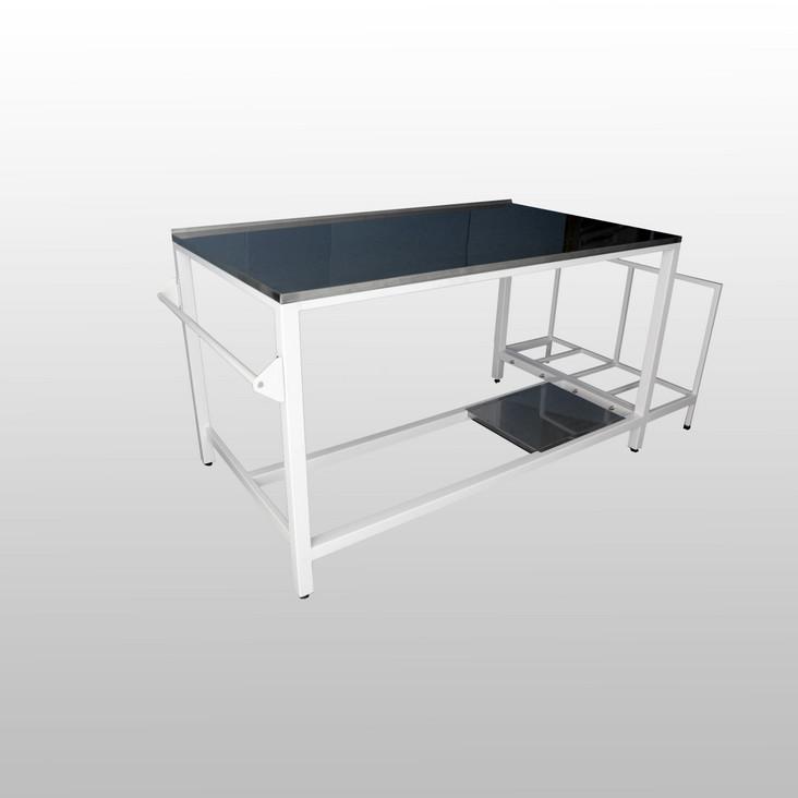 stoły do pakowania paczek, stoły do pakowania, stół do pakowania, stół do pakowania paczek, packing table, stół z rolką na papier,