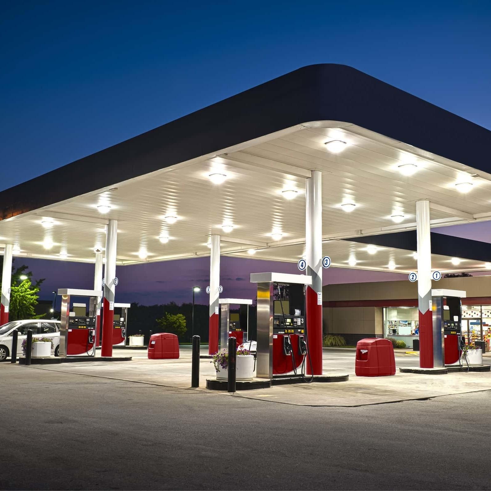 wyposażenie stacji benzynowych